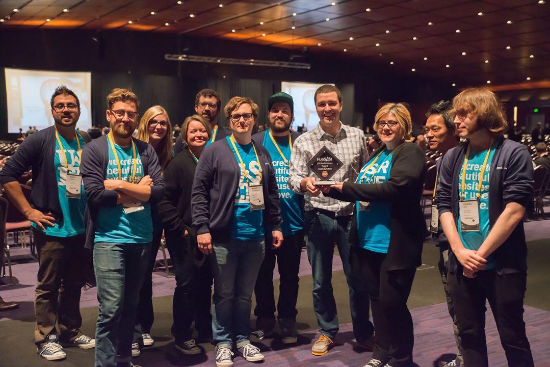 HubSpot COS Champion Award - Media Junction HubSpot Website Design & Development Team