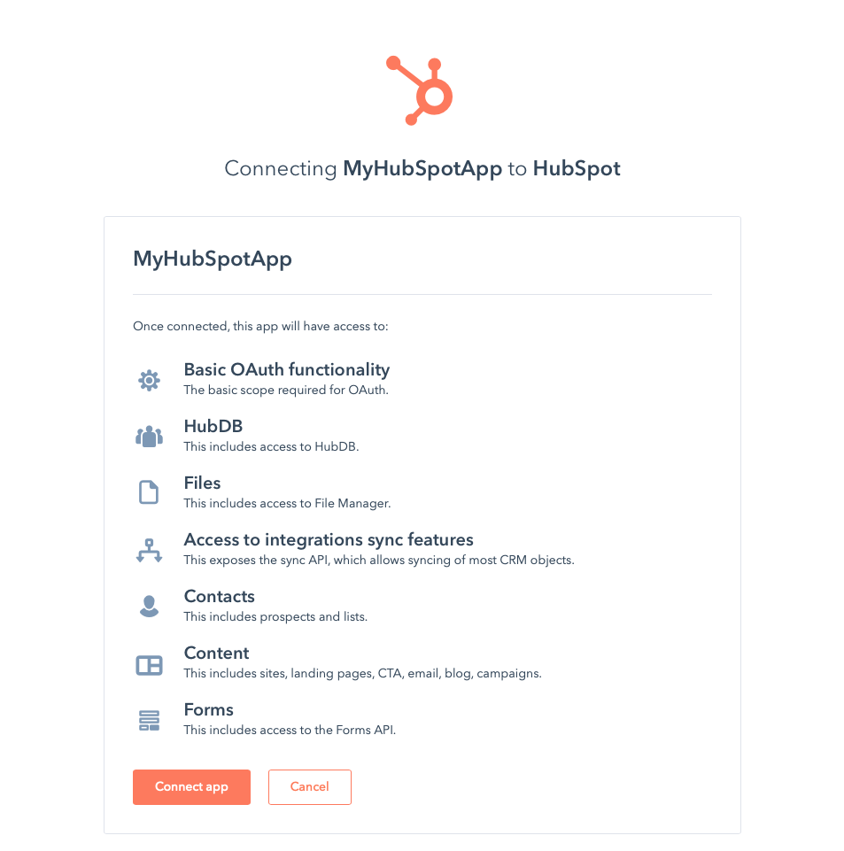 Building Apps on HubSpot